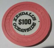 Kendalls Oceanside Casino Russia 100.00 Chip Great For Any Collection