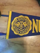 Vintage Notre Dame University College Pennant. Rare Very Large Seal
