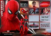 Hot Toys Mms542 1/6 Spider-man Far From Home Spiderman Upgrade Battlesuit Toy