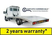 Aluminium Recovery Body Car Transporter Beavertail Chassis Cab Truck Bed