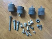 Pioneer P38sh Chainsaw Motor Buffer Mounts And Misc Nuts Bolts And Screws Box 111