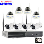 Outdoor Home Security Camera System Wireless 1080p Multiple Specifications Hdd