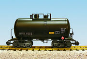 Usa Trains G Scale Beer Can Tank Car R15200 Undecorated - Black