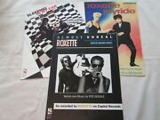 Roxette Sheet Music 3pc Sleeping In My Car Almost Unreal Mario Bros And Joyride