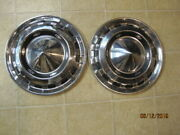 1956 Chevy Bel Air Two Ten 150 Nomad 15 Wheel Covers Set Of 2