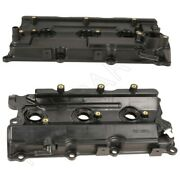 For Infiniti Qx4 Nissan 3.5l V6 Pair Set Of Left And Right Valve Covers Genuine