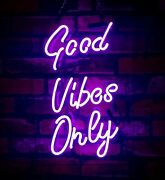 New Good Vibes Only Purple Beer Pub Acrylic Neon Light Sign 14