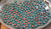 Vintage Pinback Red Cross Buttons--large Lot Of Over 350 In 5 Types