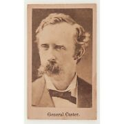 Second-to-last Cdv Photograph Of George A. Custer Taken Before Little Bighorn