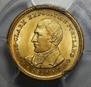 1904 Pcgs Ms64 Lewis And Clark Gold Dollar Commemorative