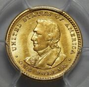 1905 Pcgs Ms62 Lewis And Clark Gold Dollar Commemorative