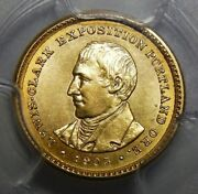 1905 Pcgs Ms64 Lewis And Clark Gold Dollar Commemorative