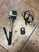 Gopro Hero3 12mp Hd Waterproof Camera Chdhx-301 Charger, Remote Control