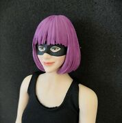 1/6 Purple Hair Mould Female Head Toy Catwoman Batman Head Sculpt F 12and039and039 Figure
