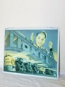 1993 Lionel Train 1952 Catalog Cover Reproduction Embossed Tin Sign