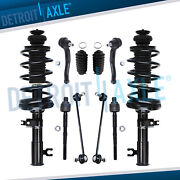 Chevy Aveo Aveo5 Pontiac Wave 10pc Front Strut And Coil Spring Sway Bar Tierod Kit
