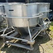 30 Cu.ft. Stainless Steel Tote Tank 225 Gallon Tank On Wheels