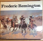 """✨collector✨peter Hassrick""""frederic Remington Paintings Drawingsandsculpture""""1st Ed"""