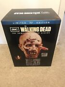 The Walking Dead Second Season Limited Edition Blu-ray Zombie Head New And Sealed