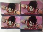 Dragon Ball Z Chromium Archive And Holochrome Card Sets And Sticker Sets 4 Sets