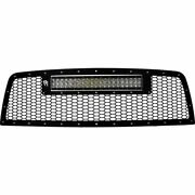 Rigid Industries Led Grille Kit W/ 20 Rds-series Pro For 10-12 Dodge 2500 3500