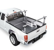 Aluminum Truck Ladder Rack For Pickup Universal Cargo Carrier Utility Contractor
