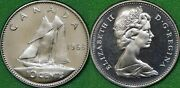 1968 Canada Dime Graded As Proof Like From Original Set