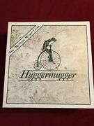 Vintage Huggermugger Board Game Mystery Word Game 1989 Diana Carlston Complete