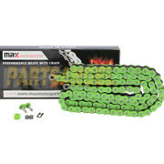 525 Green O-ring Chain 120 Links For Motorcycle 525x120 Links 9850 Tensile