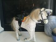 American Girl Doll Picasso Horse With Saddle