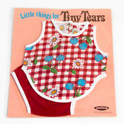 Ex Shop Stock Vintage Palitoy Teeny Tiny Tears Doll Little Things Vest And Pants