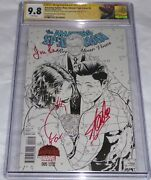 Amazing Spider-man Renew Your Vows Cgc Ss 3x Signature Autograph Stan Joanie Lee