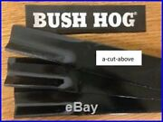 Set/3 Aftermarket 88668 Grooming/finish Mower Blades Bush Hog Ath600 And Fth600