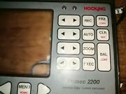 Housing Front And Rear For Hocking Phasecs 2200 Eddy Current Instrument.