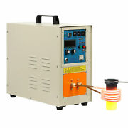 110v 15kw High Frequency Induction Heater Furnace 2200 ℃ 3992 ℉ 30-100 Khz New