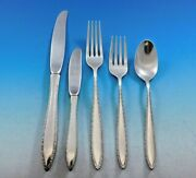 Michele By Wallace Sterling Silver Flatware Set For 8 Service 40 Pieces