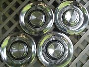 Four Vintage 1959 59 Lincoln Mark Series Premier Town Car Hubcaps Wheel Covers