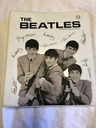 Beatles Original 3 Ring Notebook In Good Condition And 19 Collectors Cards.
