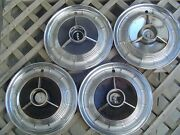 1958 58 Ford Edsel Antique Vintage Classic Hubcaps Wheelcovers Center Cap Fomoco