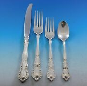 My Love By Wallace Sterling Silver Flatware Set For 8 Service 32 Pieces