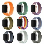 Big Sale Color Arrive Woven Nylon Sport Loop Band For Apple Watch Series 4 44mm