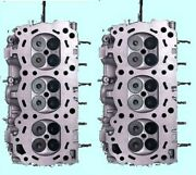 Fit 2 Nissan 3.5 Dohc Murano Pathfinder Quest Maxima Z350 Cylinder Heads No Core