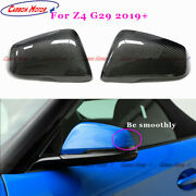 Carbon Fiber Mirror Cover For Bmw 19+ Z4 G29 M40i Sdrive30i Replace Shell Casing