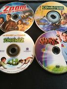 Kids Movies/ Dvds 4 Total Zoom/crocodile Hunter/son Of The Mask/shorts