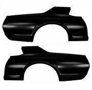 19671968 Cougar Quarter Panel Right And Left Side Edp Coated Steel Dynacorn