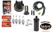 Electronic Ignition And Hot Coil For Case Tractor With Prestolite Distributor