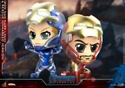 Hot Toys Cosb667 Iron Man Mk85andrescue Unmasked Version Cosbaby S Bobble-head