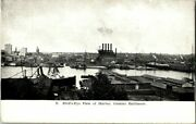 Early 1900's. Birds Eye View Of Harbor, Greater Baltimore. Maryland Postcard V11