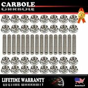 Exhaust Manifold Header Stainless Steel Stud Kits 2 Manifolds For Ford 4.6l 5.4l