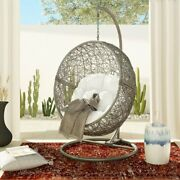 Swing Chair Valleta With Stand Weather Resistant Birdand039s Nests Shape And Cozy
